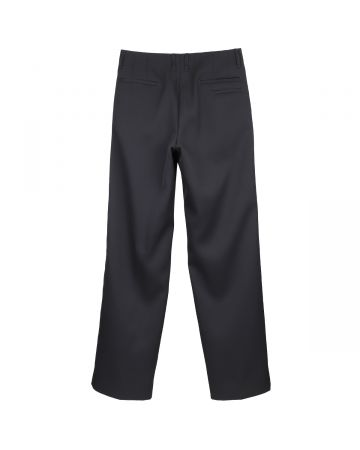 th products QUINN WIDE TAILORED PANTS / BLACK