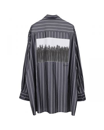 th products OVERSIZED SHIRT / STRIPE