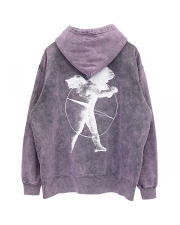 th products HOODIE PRAY / BLEACHED PINK