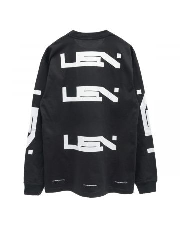 UNITED STANDARD USN LS T-SHIRT / 001 : BLACK
