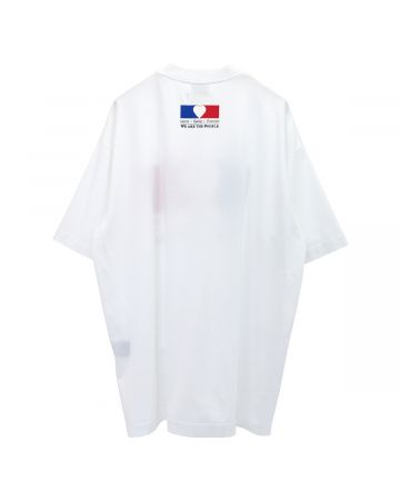 VETEMENTS WE ARE THE PEOPLE T-SHIRT / WHITE