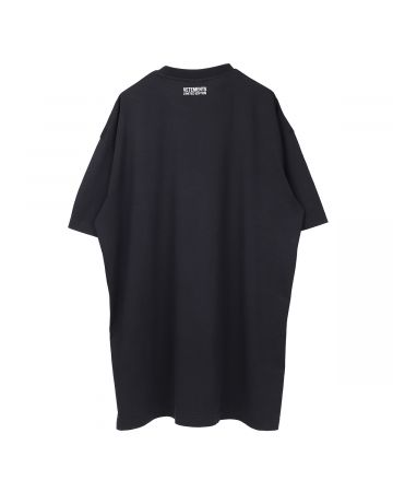VETEMENTS INSECURITY T-SHIRT / BLACK