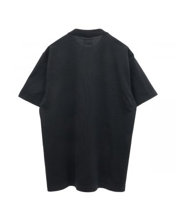 VETEMENTS THINK DIFFERENTLY LOGO T-SHIRT / BLACK