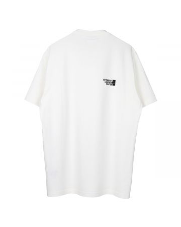 VETEMENTS LOGO LIMITED EDITION T-SHIRT / WHITE