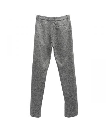 WALES BONNER CHARLIE TAILORED TROUSERS / 0900 : ASH GREY