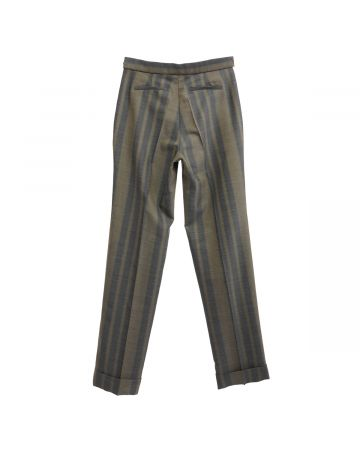 WALES BONNER ISAACS TAILORED TROUSERS / 800 : CEDAR BROWN