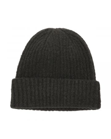 WE11DONE FELTED KNIT LONG BEANIE / GREY