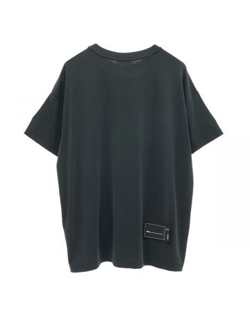WE11DONE OVERSIZED WE11DONE TEE / BLACK