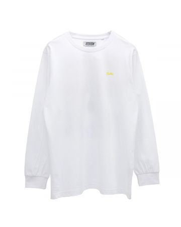 "WHITEHOUSE3000 ""BILLIE 3"" LONGSLEEVE / WHITE"