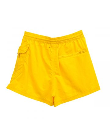 Y-3 M UTILITY SWIMSHORTS-SHORT LENGTH / SUPER YELLOW