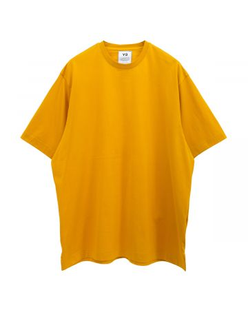 Y-3 M CLASSIC PAPER JERSEY SS TEE / CRAFT GOLD