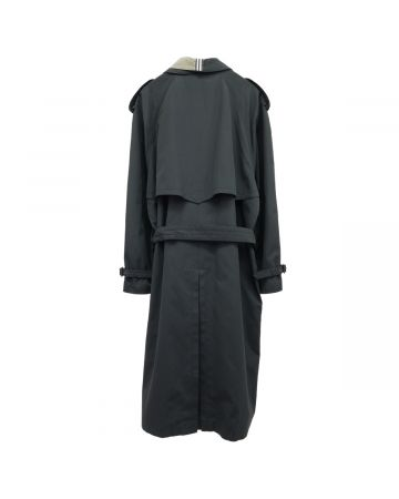 "MARINA YEE ""SIR JAMES"" IMPER COAT / BLACK-KHAKI"