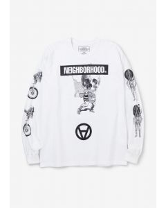 NEIGHBORHOOD x Kostas Seremetis NHKS/C-TEE.LS / WHITE