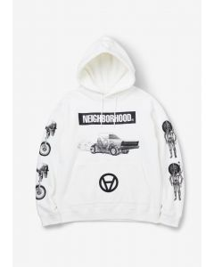 NEIGHBORHOOD x Kostas Seremetis NHKS/C-HOODED.LS / WHITE