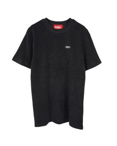 032c TERRY T-SHIRT WITH LOGO EMBROIDERY / BLACK