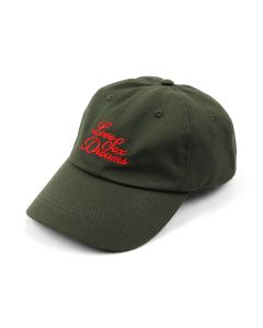 032c CAP WITH 3D EMBROIDERY / OLIVE