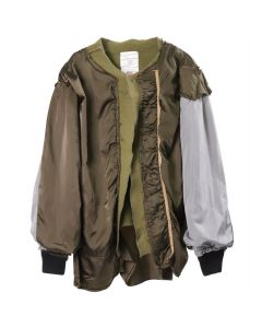 424 x ALPHA INDUSTRIES MILITARY KIMONO / SAGE GREEN