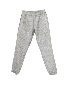 ASTRID ANDERSEN CLASSIC TROUSER WITH SIDE RIBBON / SILVER