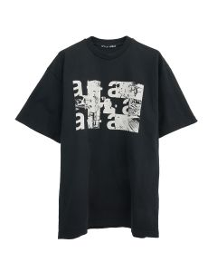 Artica - Arbox POLAROID T-SHIRT / 0999 : BLACK