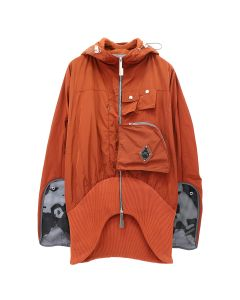 A-COLD-WALL* VENTRAL JACKET WITH ASYMMETRIC / RUST