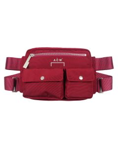 A-COLD-WALL* ABDOMEN BAG / MAROON