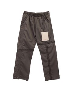 A-COLD-WALL* CIRCUIT TROUSERS WITH PATCH / BROWN