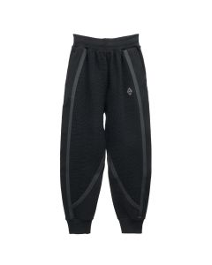 A-COLD-WALL* TEXTURED JERSEY PANTS / BLACK