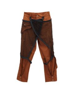 A-COLD-WALL* DETACHABLE MESH LAYERD TROUSER / RUST