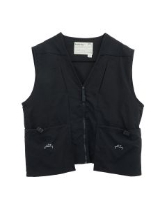 A-COLD-WALL* DRAWCORD POCKET GILET / BLACK