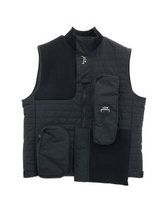 A-COLD-WALL* PADDED POCKET RIB GILET / BLACK