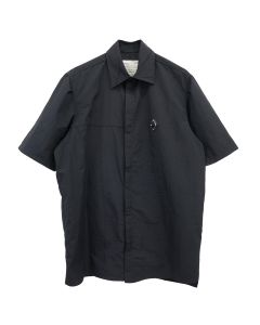 A-COLD-WALL* RHOMBUS BADGE SHORT SLEEVE SHIRT / BLACK
