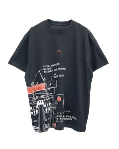 A-COLD-WALL* BLUEPRINT T-SHIRT / BLACK