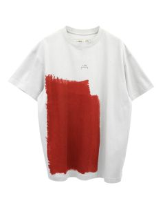 A-COLD-WALL* BLOCK PAINTED T-SHIRT / GREY VIOLET