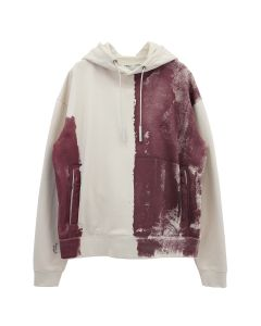 A-COLD-WALL* BLOCK PAINTED HOODY / ALMOND MILK