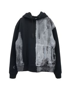 A-COLD-WALL* BLOCK PAINTED HOODY / BLACK