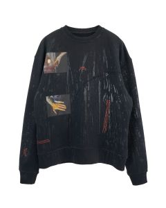 A-COLD-WALL* GLASS BLOWER CREWNECK / CHARCOAL GREY