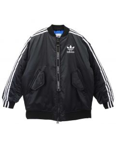 adidas Originals LONG BOMBER JACKET / BLACK