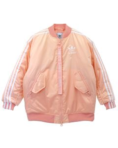 adidas Originals LONG BOMBER JACKET / GLOW PINK F19