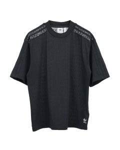 adidas Originals LACE BACK TEE / BLACK