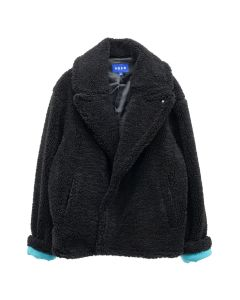 ADER Error CALLCID SHEARLING JACKET / BLACK