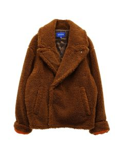 ADER Error CALLCID SHEARLING JACKET / BROWN