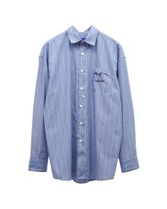 ADER Error CINDER POCKET SHIRT / BLUE