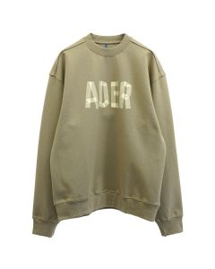 ADER Error MASK SWEATSHIRT / BEIGE