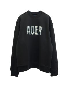 ADER Error MASK SWEATSHIRT / BLACK