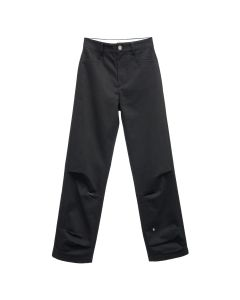 ADER Error CRUMPLE TROUSERS / BLACK