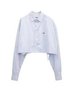 ADER Error CROPPED SHIRT / STRIPE