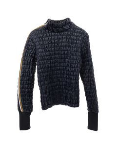 AFTERHOMEWORK KWAY PADDED TURTLENECK / NAVY
