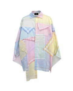AFTERHOMEWORK PATCHWORK UPCYCLED SHIRT / MULTI