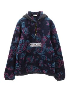 Aries PAISLEY HALF ZIP FLEECE / PAISLEY
