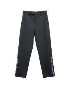 Aries ZIP TAILORED TROUSERS / BLACK